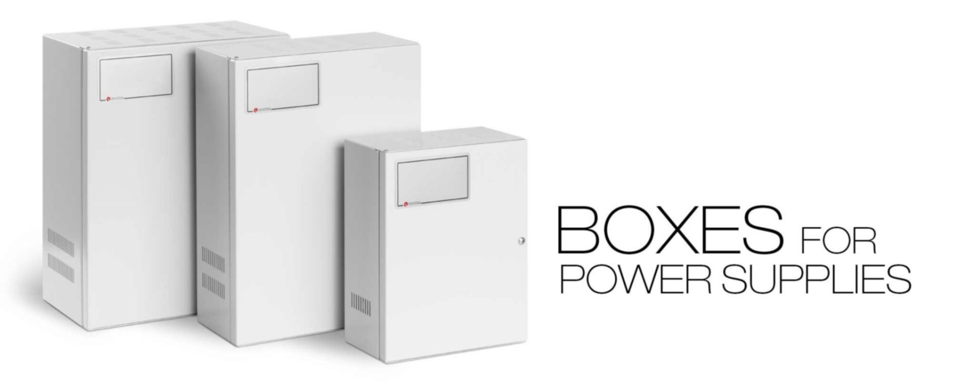 Boxes for power supplies