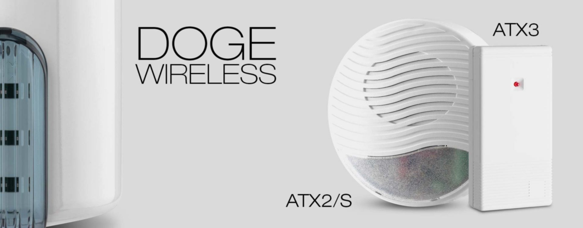 Doge Wireless | La sirena da esterno con tecnologia Wireless