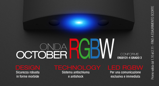 PROMO – ONDA LS con LED RGBW [October edition]